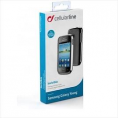 CELLULARLINE Invisible cases for  Samsung Galaxy Young