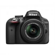 NIKON kit D3300 + 18-55 VR II + SD 8GB Lexar