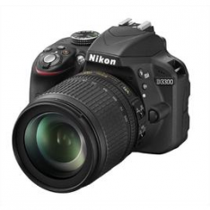 NIKON Kit D3300 + Nikkor 18-105 VR + SD 8GB Lexar Premiu