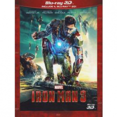 WALT DISNEY Iron Man 3 (3D) (Blu-Ray+Blu-Ray 3D)