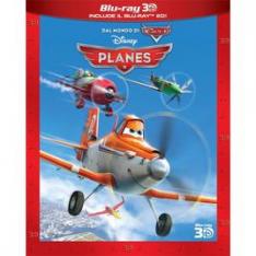 WALT DISNEY Planes (3D) (Blu-Ray+Blu-Ray 3D)