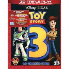 WALT DISNEY Toy Story 3 - La Grande Fuga (3D) (Blu-Ray+Blu-R