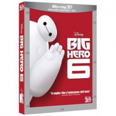 WALT DISNEY Big Hero 6 (3D) (Blu-Ray+Blu-Ray 3D)