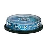 TDK 10 x DVD+R 4.7 GB