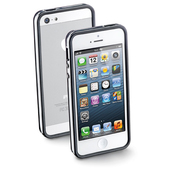 CELLULAR LINE BUMPERIPHONE5BK custodia per cellulare