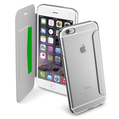 CELLULAR LINE CLEAR BOOK ARGENTO