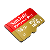 SANDISK 16GB Extreme microSDHC UHS-I