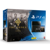SONY PlayStation 4 500GB B Chassis + The order 1886