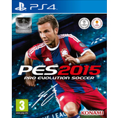 KONAMI Pro Evolution Soccer 2015, PS4