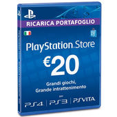 SONY PSN Card precaricata da 20 Euro PS4 branded