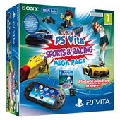 SONY PS Vita + Mega Pack (Sports & Racing)