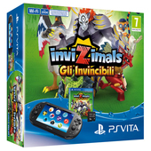 SONY PS Vita 2000 + Invizimals: Gli Invincibili