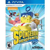 ACTIVISION SpongeBob HeroPants, PS Vita