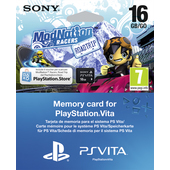 SONY ModNation Racers: Essentials, PS Vita voucher + 16GB