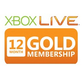 MICROSOFT Xbox 360 LIVE 12m Gold Subscription