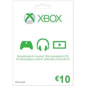 MICROSOFT XBOX Live 10 Euro Card