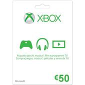 MICROSOFT XBOX Live 50 Euro Card