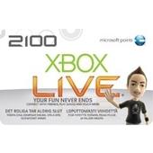 MICROSOFT Xbox 360 LIVE 2100 Points, ITA