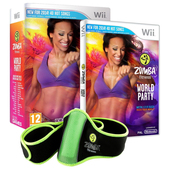 HALIFAX Zumba Fitness: World Party Bundle, Wii