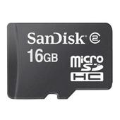 SANDISK MicroSDHC 16GB Class 2