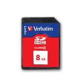 VERBATIM SecureDigital SDHC Class 4 8GB