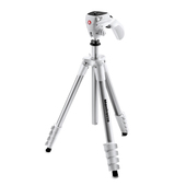 MANFROTTO MKCOMPACTACN-WH treppiede