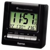 "HAMA ""RC200"" Travelling Alarm Clock"
