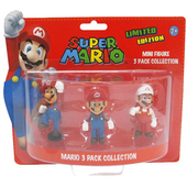 BG GAMES Mario: 3 Mini-Figurines
