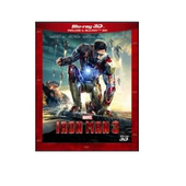 WALT DISNEY PICTURES Iron Man 3 (2013), 3D, Blu-Ray