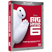 WALT DISNEY PICTURES BIG HERO 6 - Blu Ray 3D + 2D