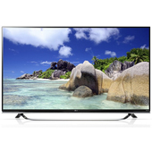 "LG 55UF8507 55"" 4K Ultra HD Compatibilità 3D Smart TV Wi-Fi Nero LED TV"