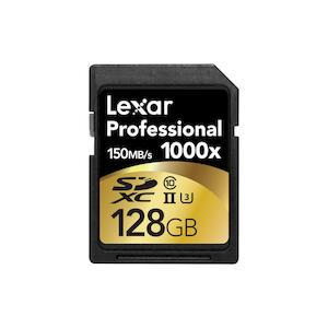 LEXAR 128GB 1000X PRO SDXC UHS2