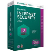 KASPERSKY LAB Internet Security 2016, 1u, 1Y, Att, ITA