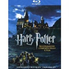 WARNER HOME VIDEO Harry Potter Collezione Completa (8 Blu-Ray)