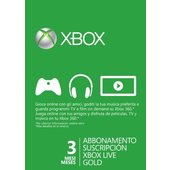 MICROSOFT Xbox Live 3 mesi Gold Card