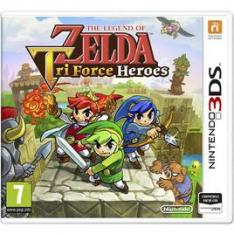 NINTENDO The Legend of Zelda: Tri Force Heroes 3Ds
