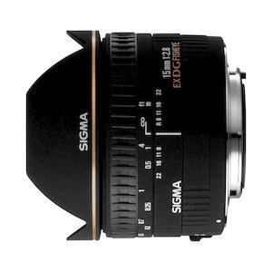 SIGMA 15mm f/2,8 EX DG Fisheye Diagonale per Canon AF 6030801