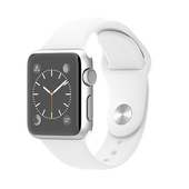 APPLE Watch Sport 38 mm Silver White