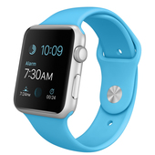 APPLE Watch Sport 42 mm Silver Blue