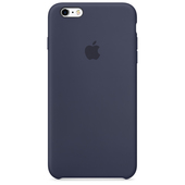 APPLE Custodia in silicone per iPhone 6s Plus - Blu notte