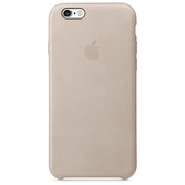 APPLE Custodia in pelle per iPhone 6s - Grigio rosa