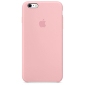 APPLE Custodia in silicone per iPhone 6s Plus - Rosa