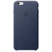 APPLE Custodia in pelle per iPhone 6s Plus - Blu notte