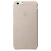 APPLE Custodia in pelle per iPhone 6s Plus - Grigio rosa