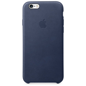 APPLE Custodia in pelle per iPhone 6s - Blu notte