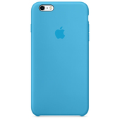 APPLE Custodia in silicone per iPhone 6s Plus - Azzurro