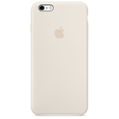 APPLE Custodia in silicone per iPhone 6s Plus - Bianco antico