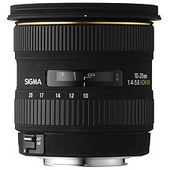 SIGMA 10-20mm f/4-5.6 EX DC HSM CANON