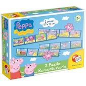 LISCIANI Peppa puzzle raccontastorie
