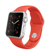 APPLE Watch Sport 38 mm Silver Orange